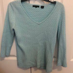 Jeanne Pierre 3/4 sleeve sweater